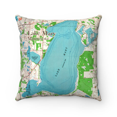 MN Lake Pillow - Lake Mary