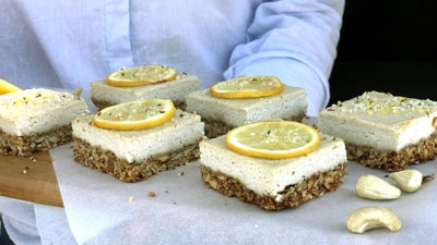 Lemon Tart Protein Slice