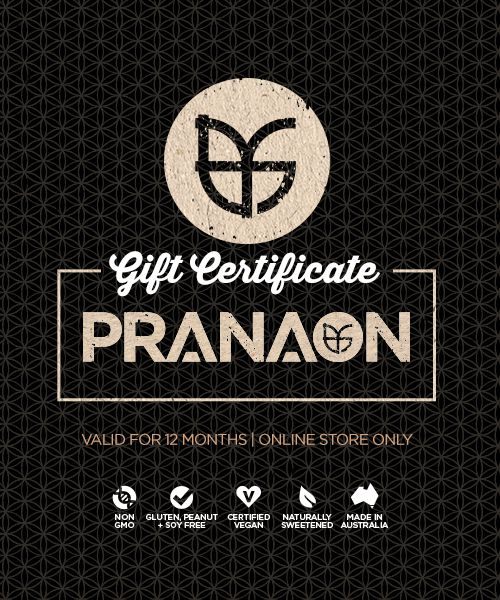 PranaOn Gift Certificate