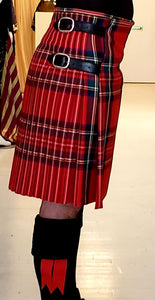 Kilt Écossais de Julie Perron / SUR-MESURE seulement  / MADE TO MEASURE only / Scotland / tartan 100% laine / plaid / Scottish / Écosses / skirt / Montreal tartan plaid / uniforme militaire / mariage / protocole / cérémonie / tradition ancestrale