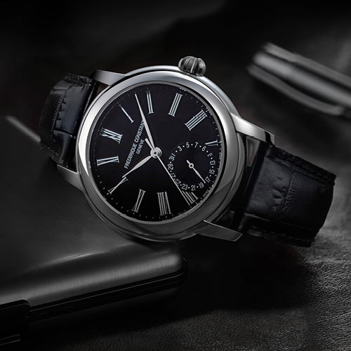 Frederique Constant presents a<br>Fresh Look on the Classic Manufacture