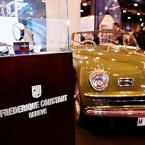 "Classic Auto Fair, Madrid (Spain), ""Elegencia"" Contest."