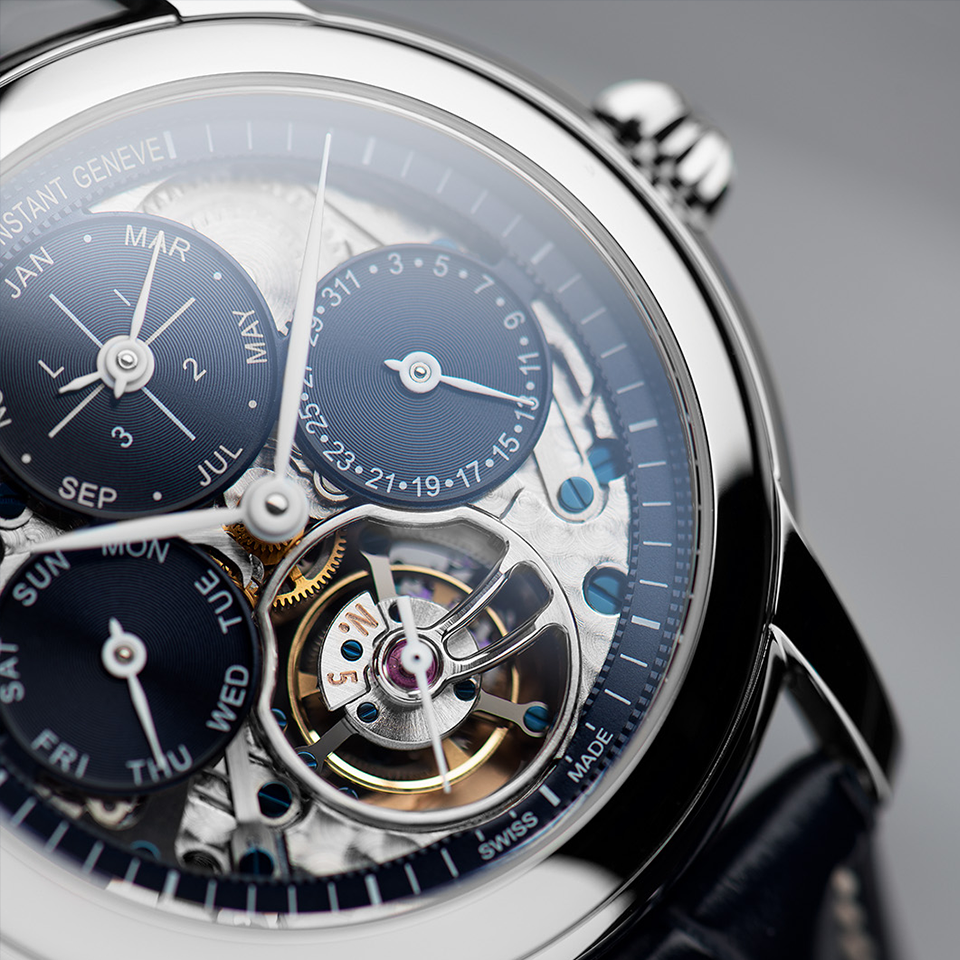 Frederique Constant introduces <br>two new Tourbillon Perpetual Calendar Manufacture timepieces