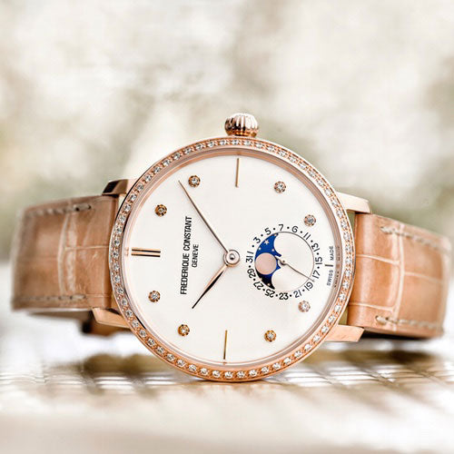 New Slimline Manufacture Moonphase for Women