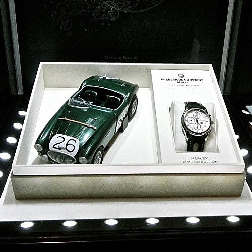 Frederique Constant sponsors The 4Th European Healey Meeting.