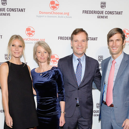 Frederique Constant and Brand Ambassador Gwyneth Paltrow <br>Unveil New Horological Smartwatch