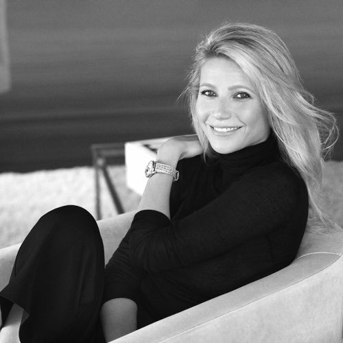 Gwyneth Paltrow <br>global Charity brand ambassador Frederique Constant