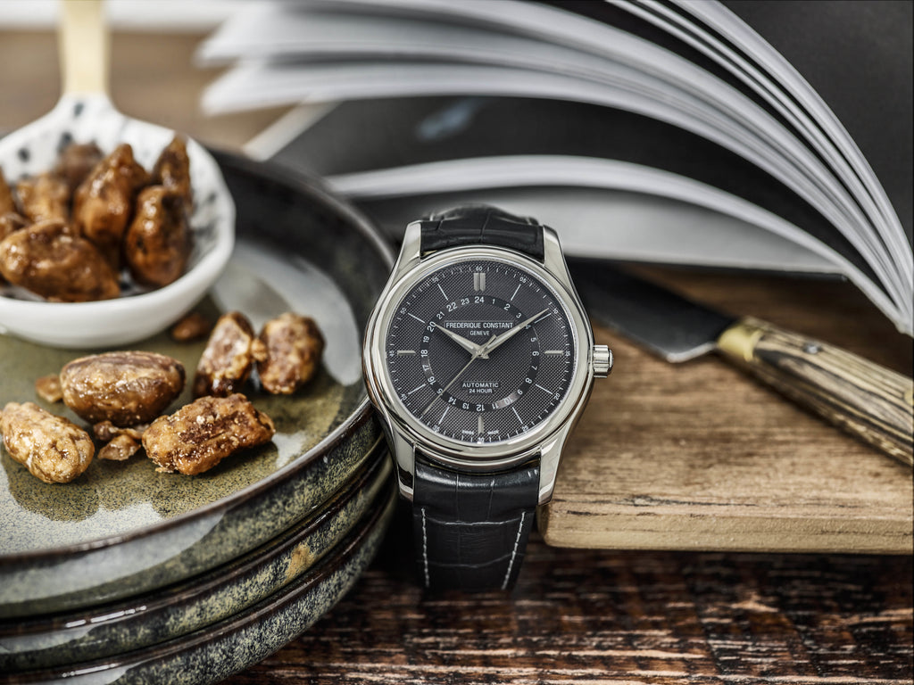 FREDERIQUE CONSTANT WELCOMES A <br>24-HOUR FUNCTION WITHIN ITS CLASSICS COLLECTION