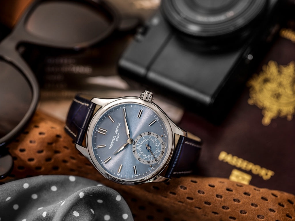 NEW GENERATION HOROLOGICAL SMARTWATCHES<br> FOR GENTS NOW AVAILABLE AT FREDERIQUE CONSTANT