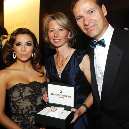 Frederique Constant Supports Eva Longoria in Cannes