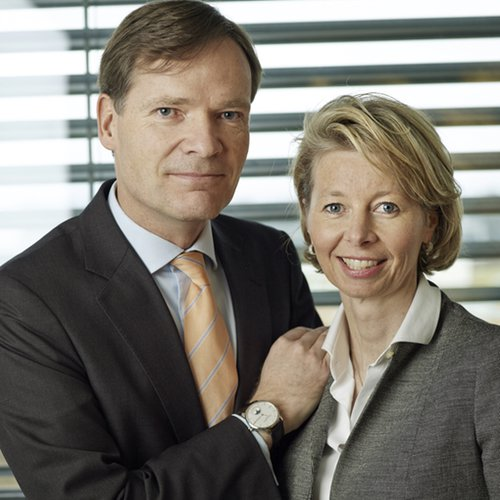 "Aletta & Peter Stas, founders of Frederique Constant, awarded at the 2016 <br>""Talents du Luxe et de la Création"" ceremony"