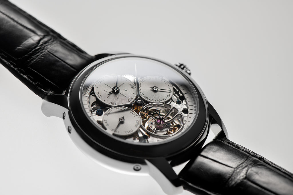 LAUNCHING A LIMITED EDITION <br>PERPETUAL CALENDAR TOURBILLON MANUFACTURE