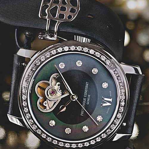 "Frederique Constant Double Heart Beat ""Black Beauty"""