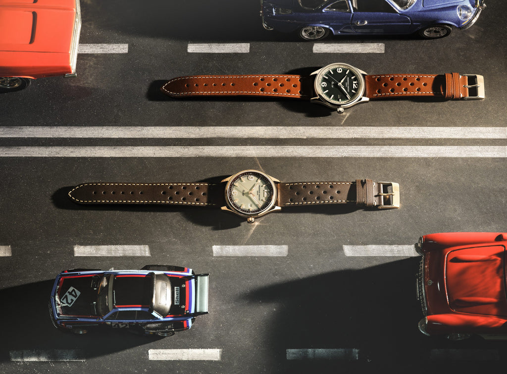 Frederique Constant gives its <br>Vintage Rally Healey Automatic an outing