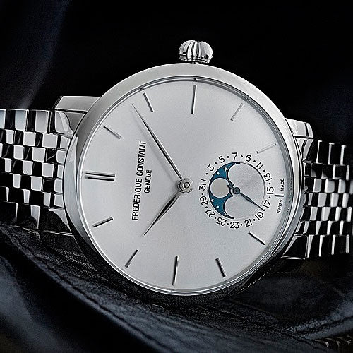 Adding style to Manufacture <br>the Slimline Moonphase Manufacture