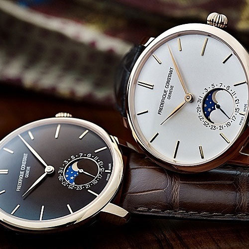The All-New Frederique Constant <br>Slimline Moonphase Manufacture Simply