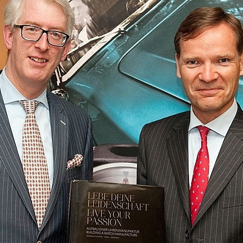 "Frederique Constant hosted together with Jeweler Leicht an exclusive <br>""Watch Dinner"" at Berlin Capital Club, Germany"