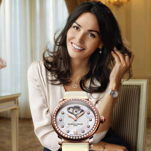 Frédérique Constant<br> introduces Mrs. Inès Sastre as new female Charity Ambassador