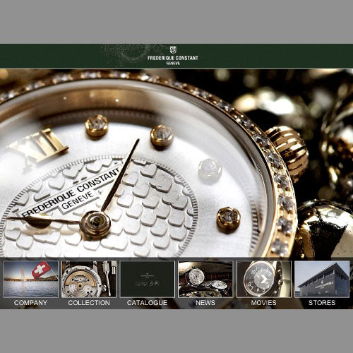 Frederique Constant Ipad Application