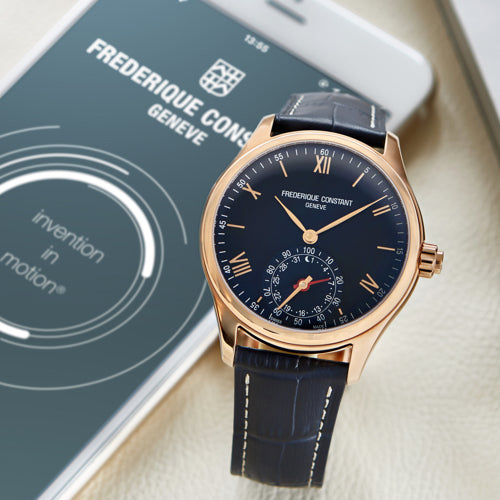 Frederique Constant offers exclusive preview of its 2016 pre-Basel <br>Horological Smartwatch, powered by MotionX®