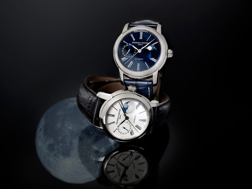 NEW CLASSICS MOONPHASE MANUFACTURE <br> AND INTRODUCES A NEW IN-HOUSE CALIBER