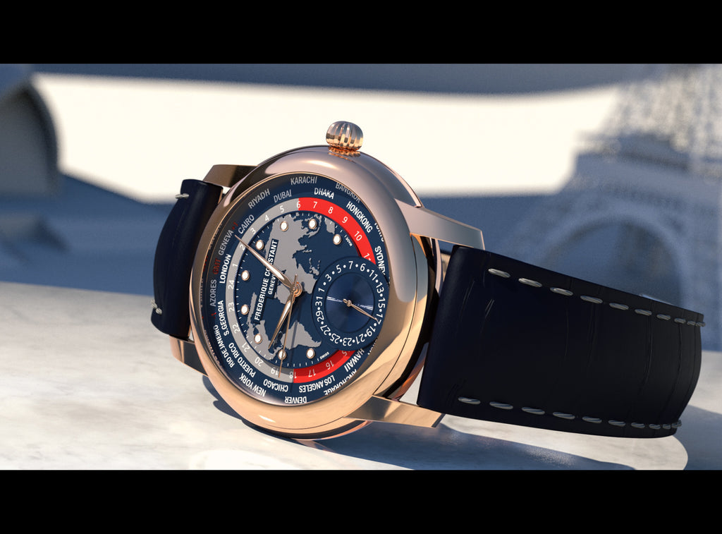 A limited edition exclusive<br> The rose gold Classic Worldtimer Manufacture