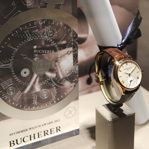 Bucherer Watch Award 2015<br> Horological Smartwatch Frederique Constant