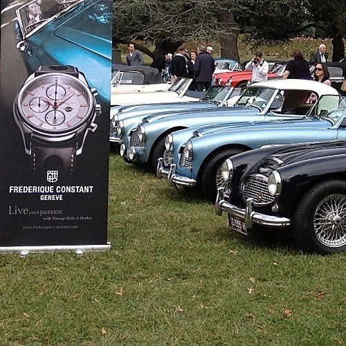 Frederique Constant & Avstev Sponsor the 42Nd <br>Austin Healey National Rally – Austria