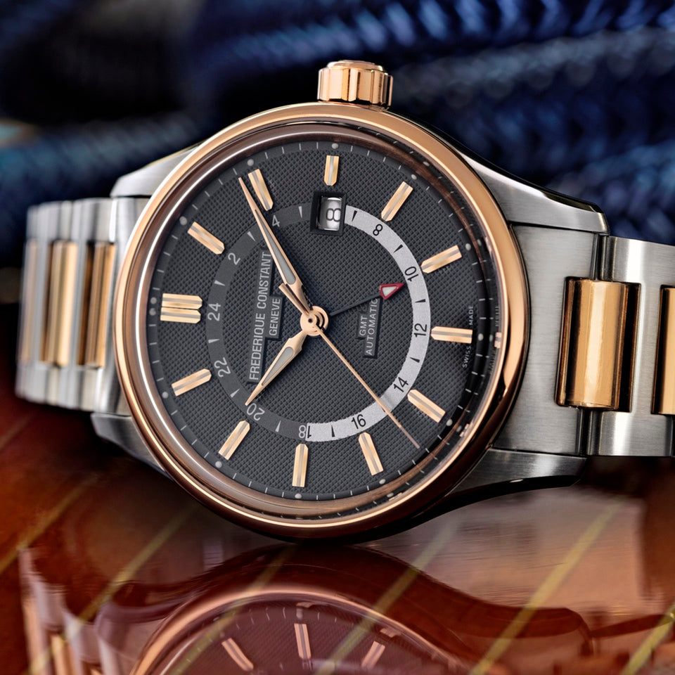 Frederique Constant unveils its first <br>Yacht Timer GMT collection
