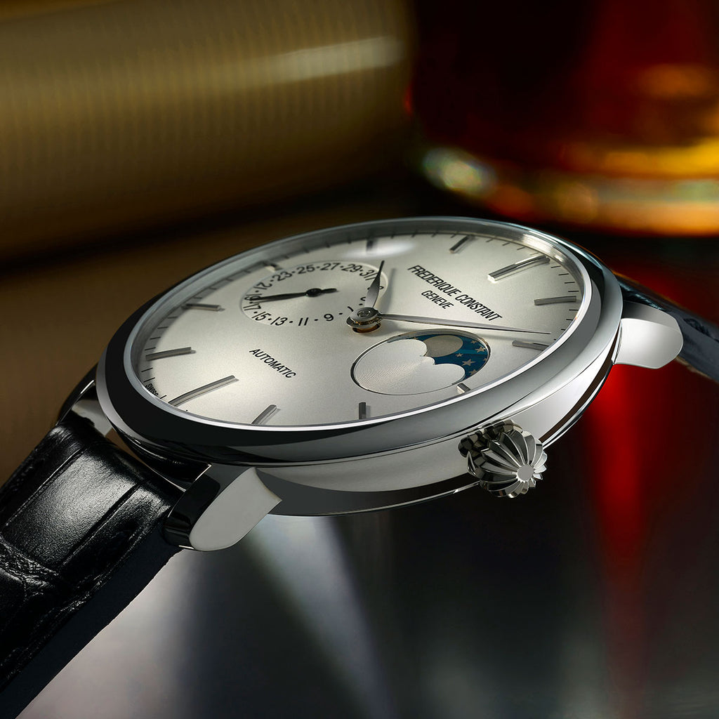 2017 NOVELTY Slimline Moonphase Manufacture