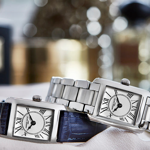 The Classics Carrée Ladies<br>The Ultimate Accessible Luxury Collectionfrom Frederique Constant