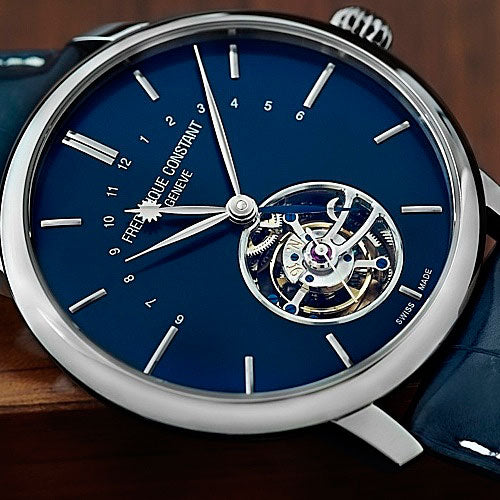 The Frederique Constant Slimline Tourbillon Manufacture range<br> New additions to a famous family