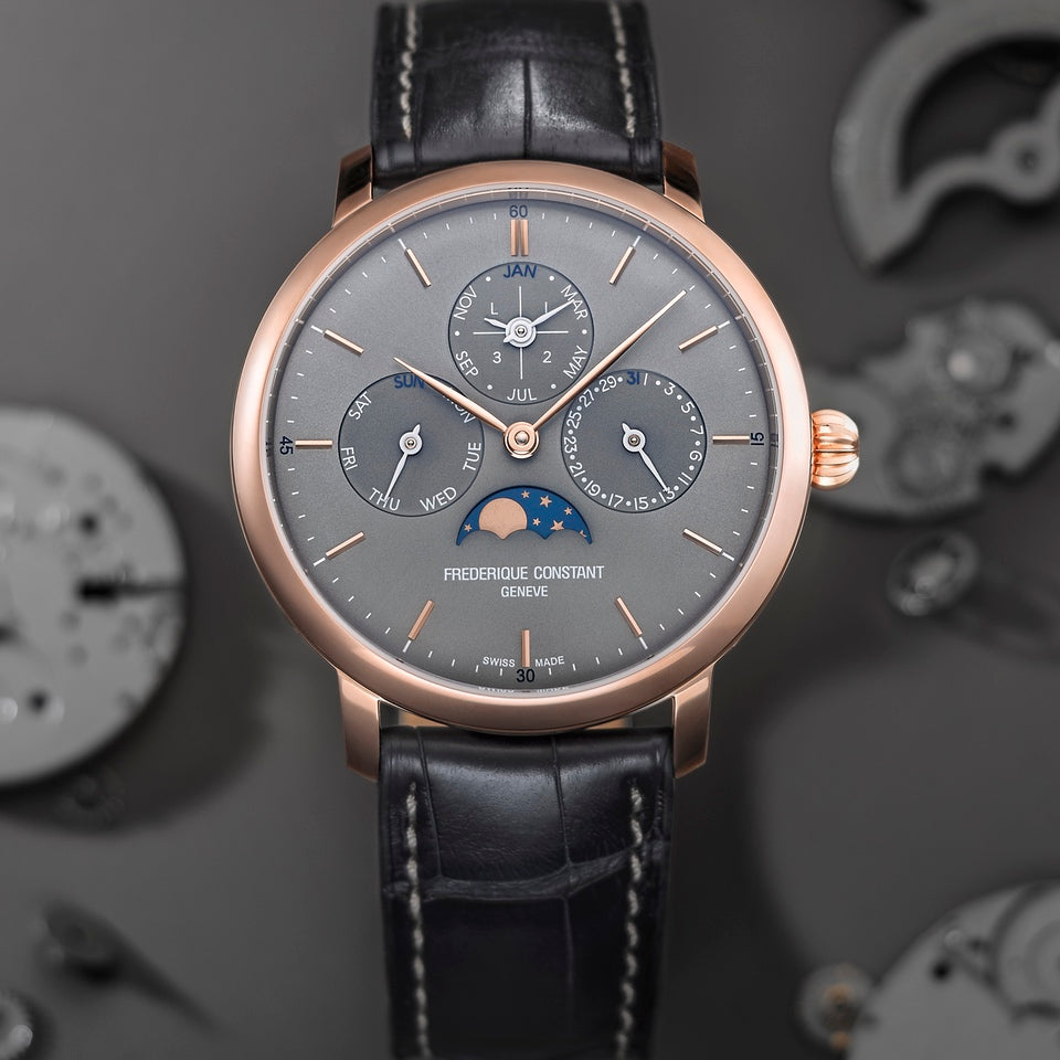 Two new  Slimline Perpetual Calendar Manufacture timepieces