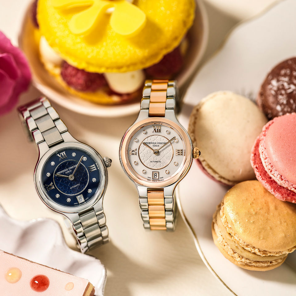 Four young and fresh timepieces to the irresistible <br>Classics Delight Automatic collection