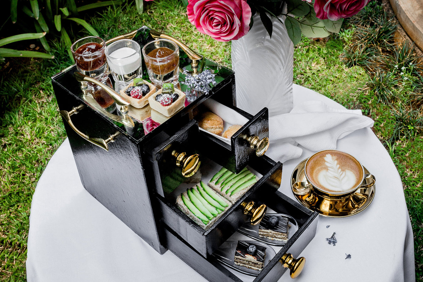 High Tea | K Lounge | Pastries Delivery | Villa Rosa Kempinski