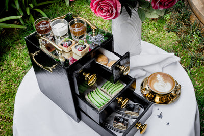 Afternoon Tea | K Lounge | Pastries Delivery | Villa Rosa Kempinski