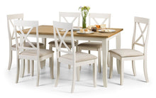Load image into Gallery viewer, Julian Bowen Davenport Extending Rectangular Dining Set - Modern Home Interiors