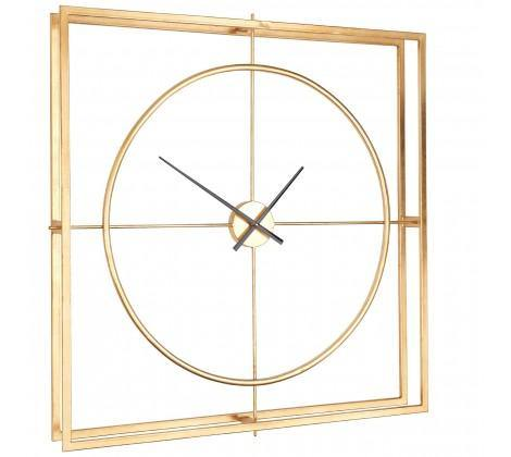Trinity Metal Wall Clock - Modern Home Interiors