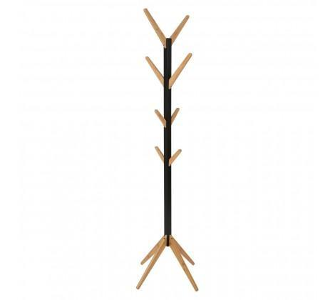 Bamboo Coat Stand - Black - Modern Home Interiors
