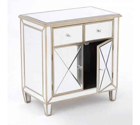 Tiffany Mirrored Sideboard - Modern Home Interiors