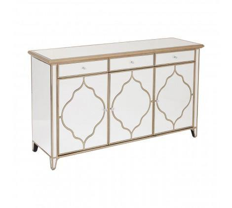 Medina Mirrored Cabinet - Modern Home Interiors