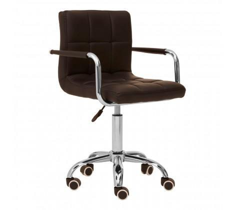 Home Office Chair With Swivel Base - Black - Modern Home Interiors
