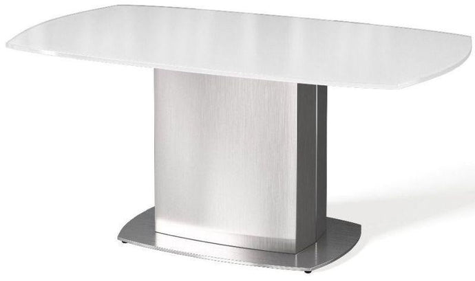 Olivia White Glass Coffee Table - Modern Home Interiors