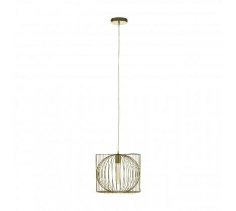 Aselo Gold Finish Pendant Lamp - Modern Home Interiors