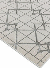 Load image into Gallery viewer, Aurora High Shine Abstract Rug - Lattice - Modern Home Interiors