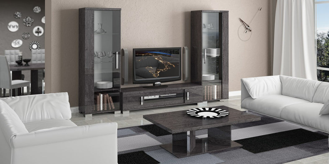 Sarah Grey Birch Modern TV and Media Living Room Set - Modern Home Interiors