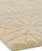 Starburst Hand Tufted Extra Thick Rug - Natural - Modern Home Interiors