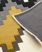 Load image into Gallery viewer, Matrix Wool Rug - Cuzzo Mustard - Modern Home Interiors