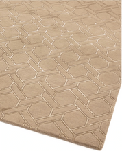 Load image into Gallery viewer, Nexus Geo Hand Tufted Rug - Sand - Modern Home Interiors