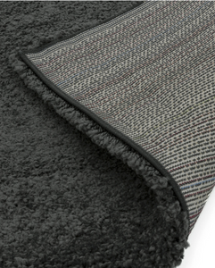 Emma Thick Pile Soft Rug - Graphite - Modern Home Interiors